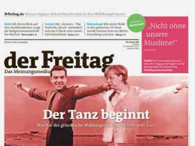 The dance starts , says weekly Freitag first week of gr.elections